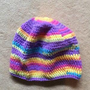 Beanie Boutique lightweight hat multi color CB